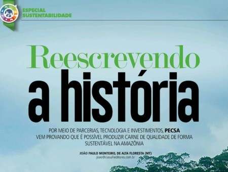 December issue of the Brazilian Magazine Feed & Food publishes an special article on Pecsa